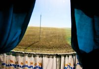Between Semey and Astana, Kazakhstan