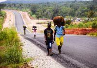The new road: Lunda Norte